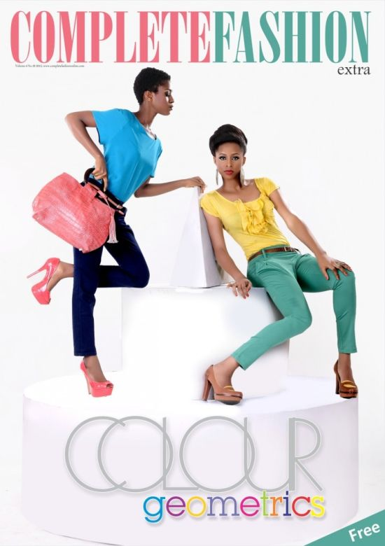 Complete Fashion Magazine June 2012 Pictures: Nollywoods Jackie Appiah and Comedian Basketmouth Cover Complete Fashion Magazine Latest Edition