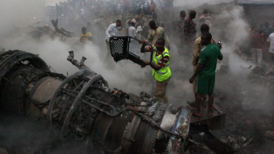 Plane Crash in Nigeria Photo by Sunday Alamba AP