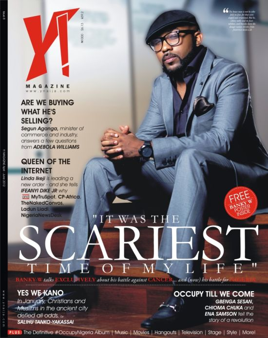Banky W Y Magazine Cover