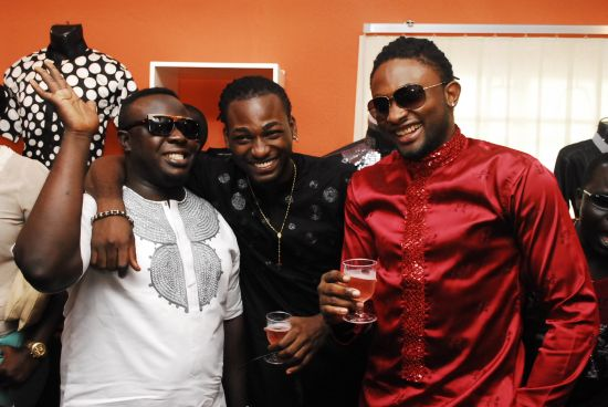 Elenu Gbenro Ajibade Cast and Uti Yomi Casual Opens Celeb Styled Showroom (Pictures)