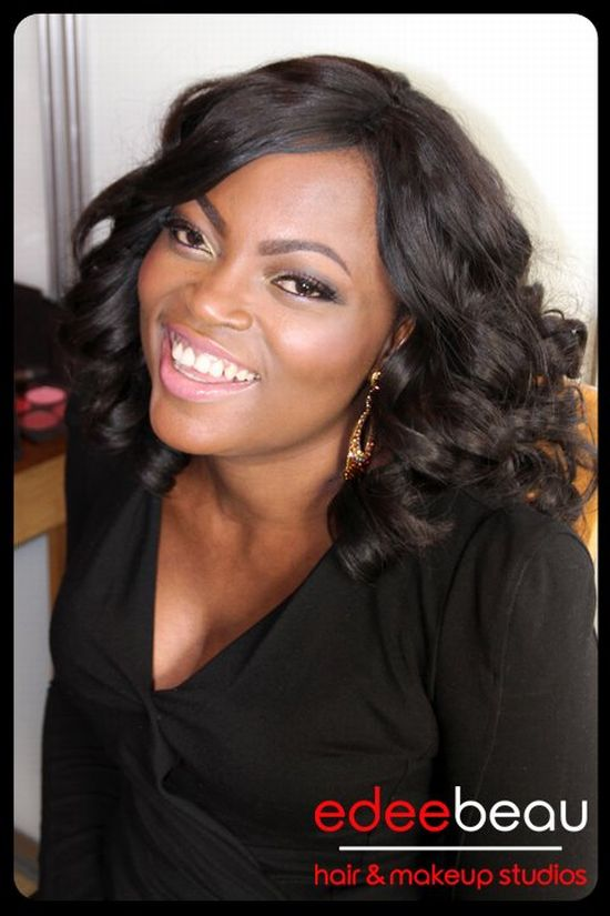 Funke Akindele Edee Beau Make Up