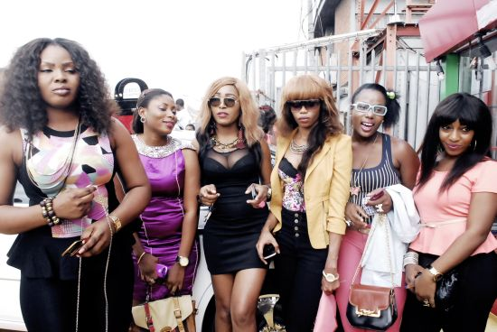 Lagos BIG Chics were also in attendance Yomi Casual Opens Celeb Styled Showroom (Pictures)