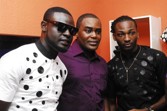 Yomi Casual, Frank Osodi, and Gbenro AJibade of Tinsel