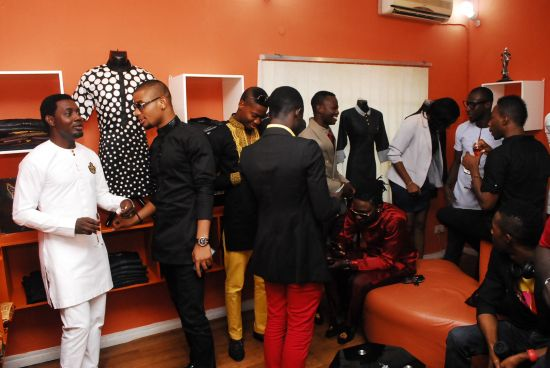inside the showroom Yomi Casual Opens Celeb Styled Showroom (Pictures)