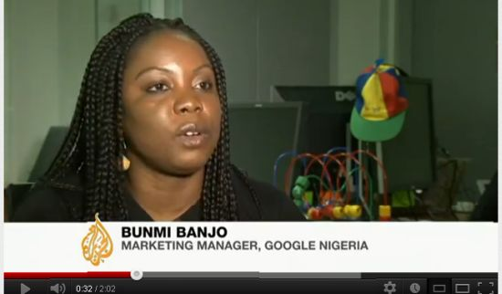 Bunmi Banjo Marketing Manager Google Nigeria