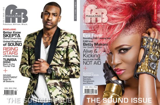 FAB Cover Skepta and Eva Alordia Sound Issue
