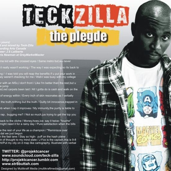 Teckzilla The Pledge