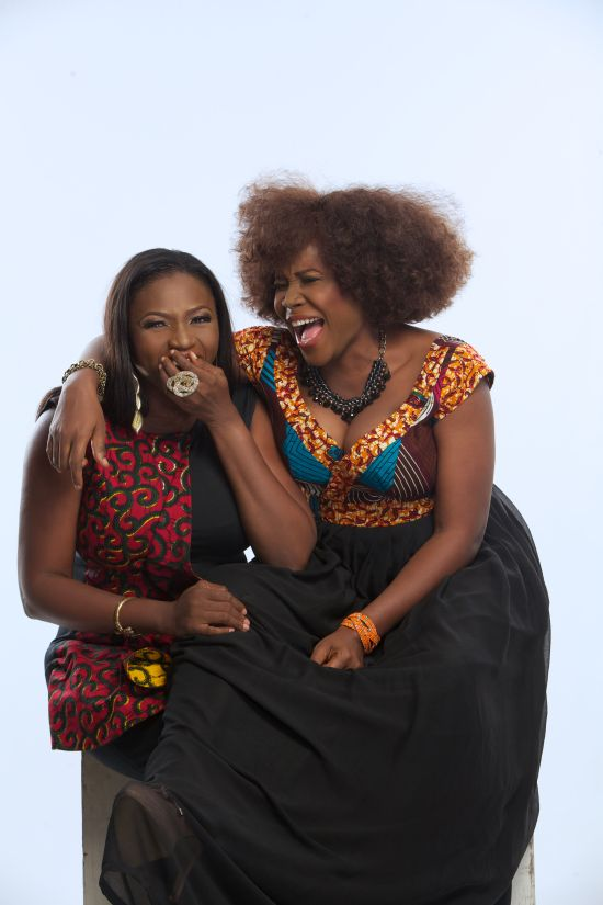 Omawumi and Waje Top Music Divas Waje and Omawumi Light Up Cover of Y! Magazines Latest Issue!
