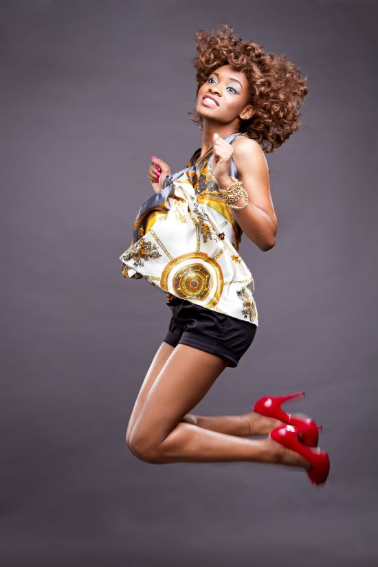 Sporty Chic Top Music Divas Waje and Omawumi Light Up Cover of Y! Magazines Latest Issue!