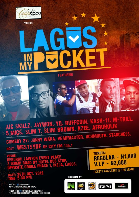 Lagos In My Pocket Poster