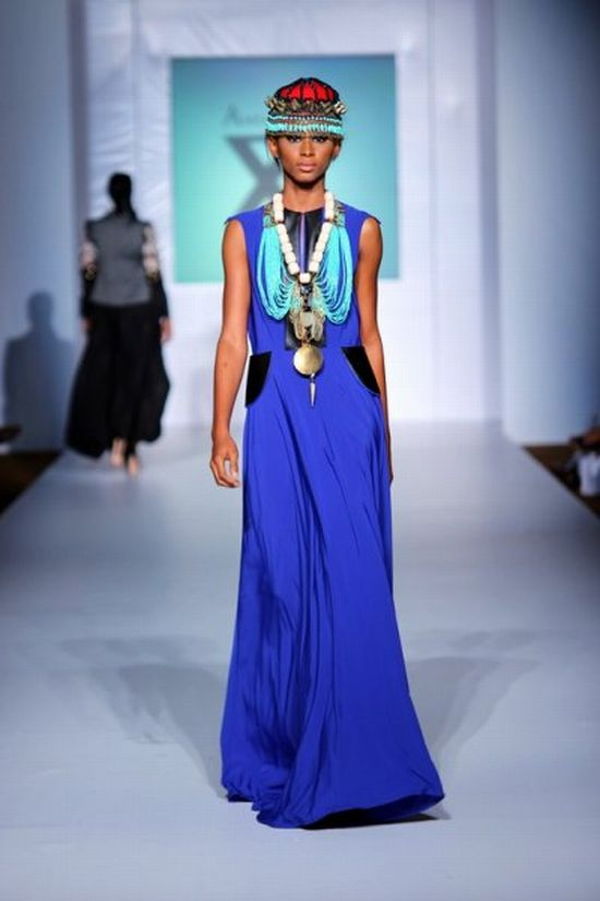 MTN Lagos Fashion & Design Week SpringSummer 2013 Anita Quinsah 6