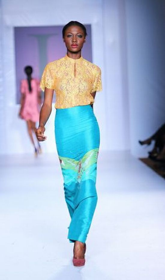 MTN Lagos Fashion and Design Week 2012 Lanre Da Silva Ajayi 7 MTN Lagos Fashion & Design Week Spring/Summer 2013: Lanre Da Silva Ajayi #LFDW