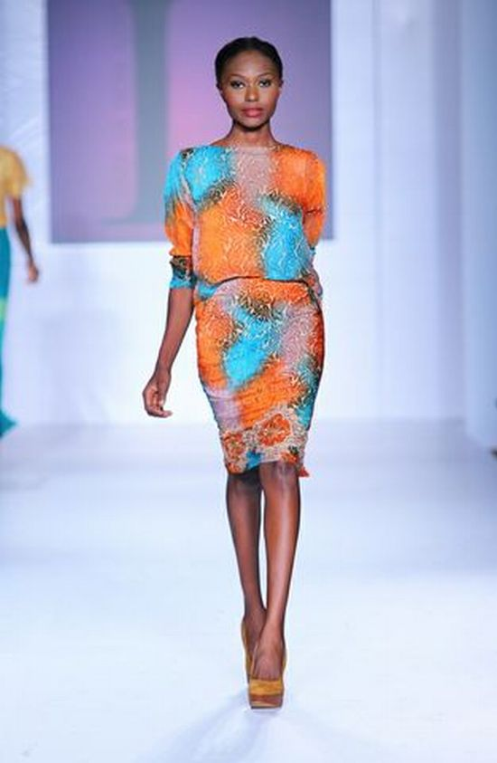 MTN Lagos Fashion and Design Week 2012 Lanre Da Silva Ajayi 8 MTN Lagos Fashion & Design Week Spring/Summer 2013: Lanre Da Silva Ajayi #LFDW