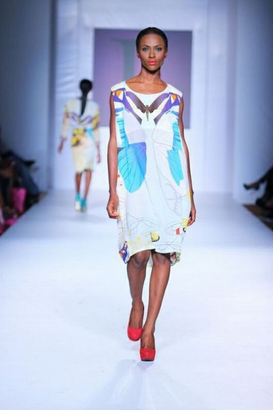 MTN Lagos Fashion and Design Week 2012 Lanre Da Silva Ajayi