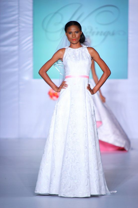 MTN Lagos Fashion and Design Week Spring Summer 2012 Mai Atafo Bridal 3
