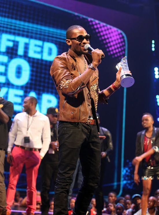 DBanj Channel O Music Awards 2012 Nigerians Dominate at the 2012 Channel O Music Video Awards: DBanj, Davido, Tiwa Savage, Brymo All Winners