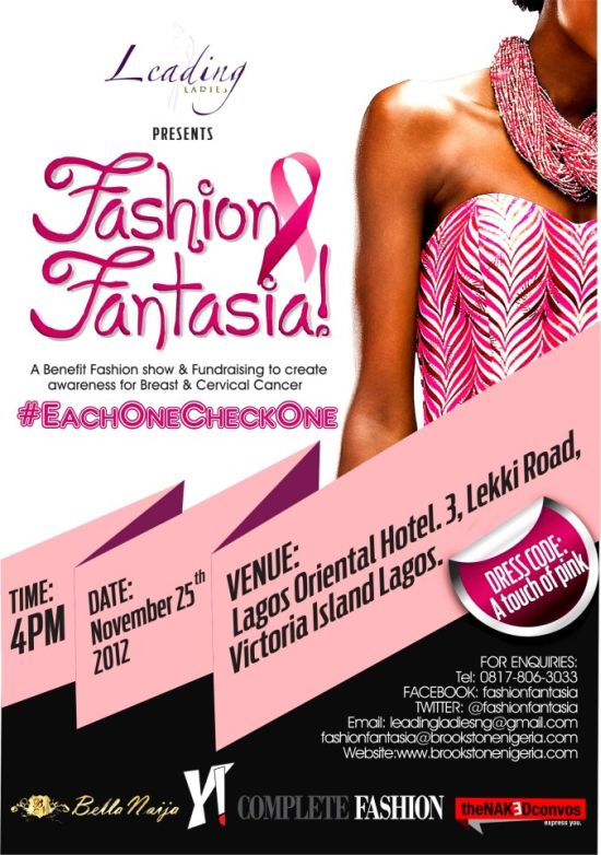 Fashion Fantasia Benefiting Breast and Cervical Cancer