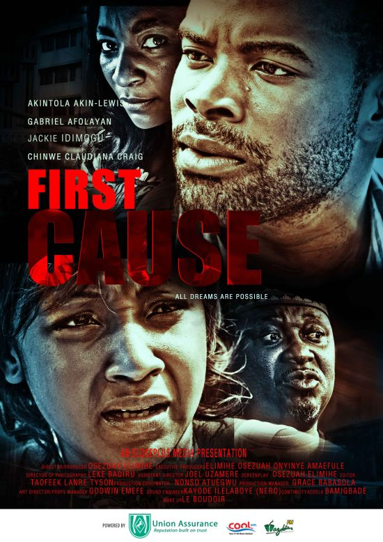 First Cause Starring Gabriel Afolayan Nollywood: Gabriel Afolayan Steps Up Acting Game, Set to Dazzle at Lagos Premiere of First Cause on Nov. 30th, 2012
