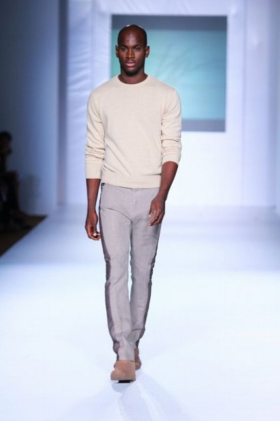 MTN Lagos Fashion and Design Week Kelechi Odu 2 MTN Lagos Fashion & Design Week Spring/Summer 2013: Kelechi Odu Takes the Nigerian Man to the South of France in the 1920s with Igbo References #Nigerianfashion