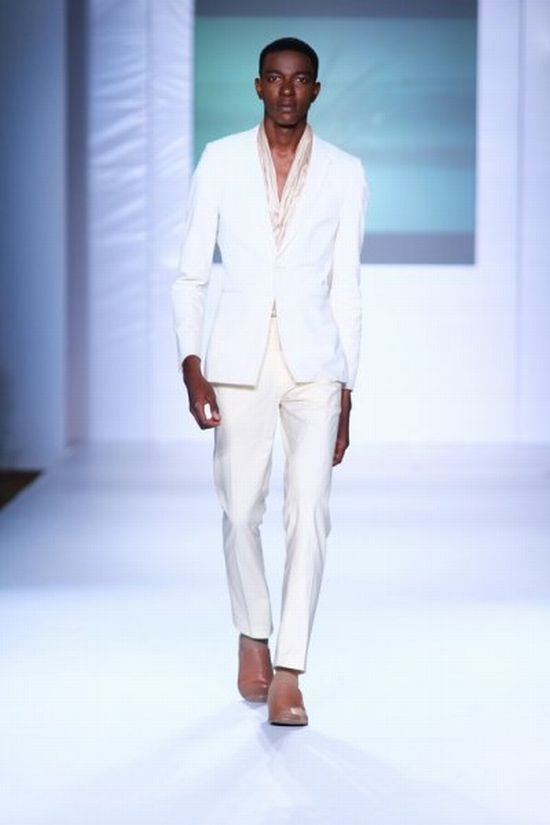 MTN Lagos Fashion and Design Week Kelechi Odu 4 MTN Lagos Fashion & Design Week Spring/Summer 2013: Kelechi Odu Takes the Nigerian Man to the South of France in the 1920s with Igbo References #Nigerianfashion