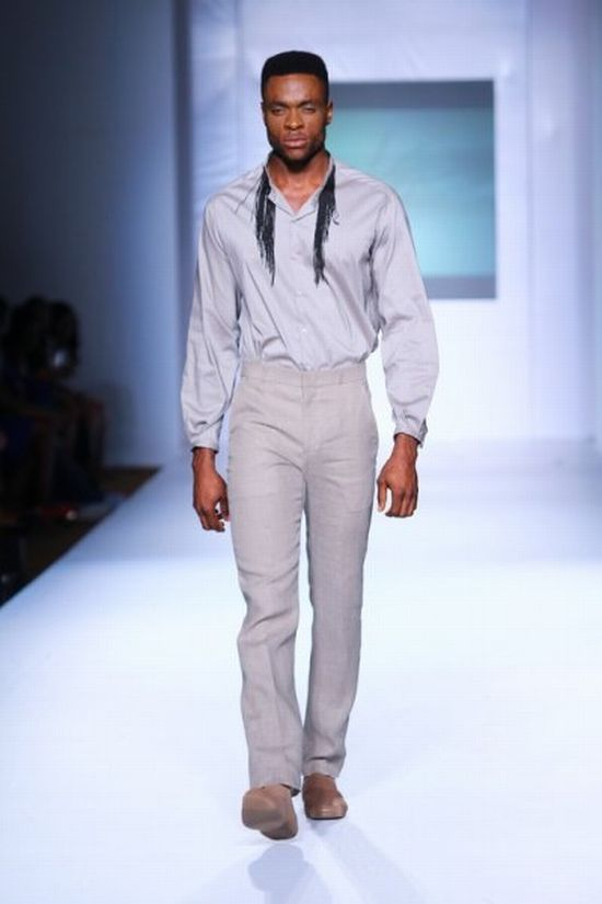 MTN Lagos Fashion and Design Week Kelechi Odu 6 MTN Lagos Fashion & Design Week Spring/Summer 2013: Kelechi Odu Takes the Nigerian Man to the South of France in the 1920s with Igbo References #Nigerianfashion