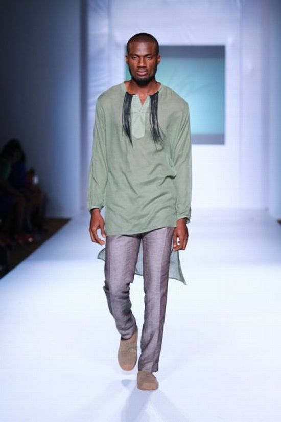 MTN Lagos Fashion and Design Week Kelechi Odu 7 MTN Lagos Fashion & Design Week Spring/Summer 2013: Kelechi Odu Takes the Nigerian Man to the South of France in the 1920s with Igbo References #Nigerianfashion