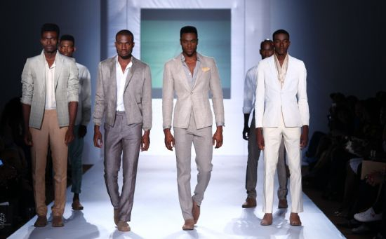 MTN Lagos Fashion and Design Week Kelechi Odu 9  MTN Lagos Fashion & Design Week Spring/Summer 2013: Kelechi Odu Takes the Nigerian Man to the South of France in the 1920s with Igbo References #Nigerianfashion