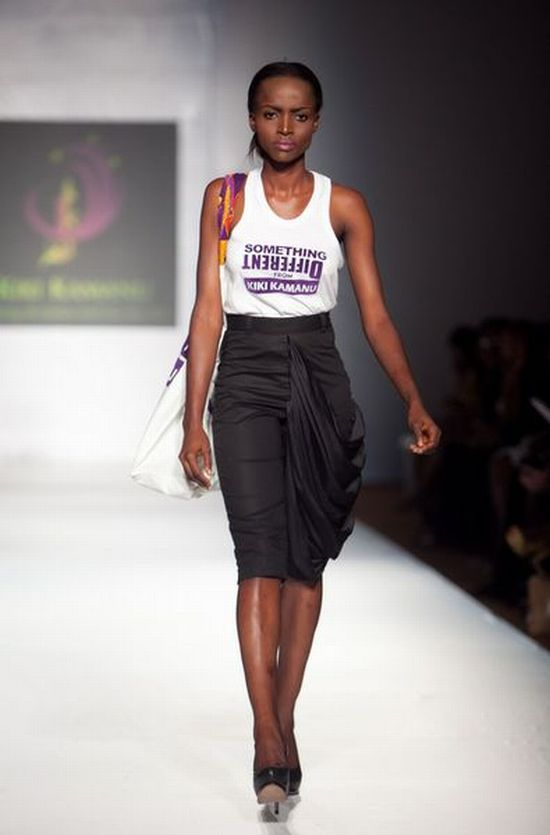 MTN Lagos Fashion and Design Week Kiki Kamanu 1 MTN Lagos Fashion & Design Week Spring/Summer 2013: Kiki Kamanu, Delivers Something Different #LFDW
