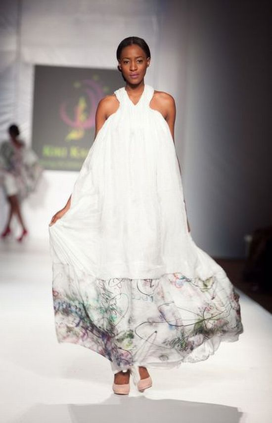 MTN Lagos Fashion and Design Week Kiki Kamanu 3 MTN Lagos Fashion & Design Week Spring/Summer 2013: Kiki Kamanu, Delivers Something Different #LFDW