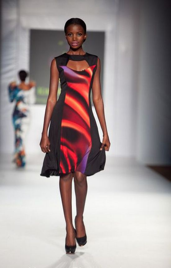 MTN Lagos Fashion and Design Week Kiki Kamanu 7 MTN Lagos Fashion & Design Week Spring/Summer 2013: Kiki Kamanu, Delivers Something Different #LFDW