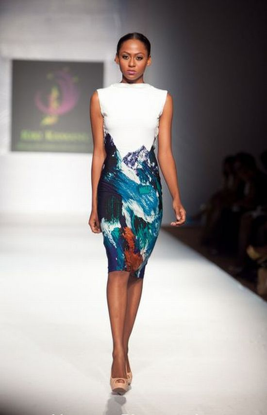 MTN Lagos Fashion and Design Week Kiki Kamanu 8 MTN Lagos Fashion & Design Week Spring/Summer 2013: Kiki Kamanu, Delivers Something Different #LFDW